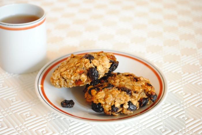 Cookies moelleux aux fruits sans sucre