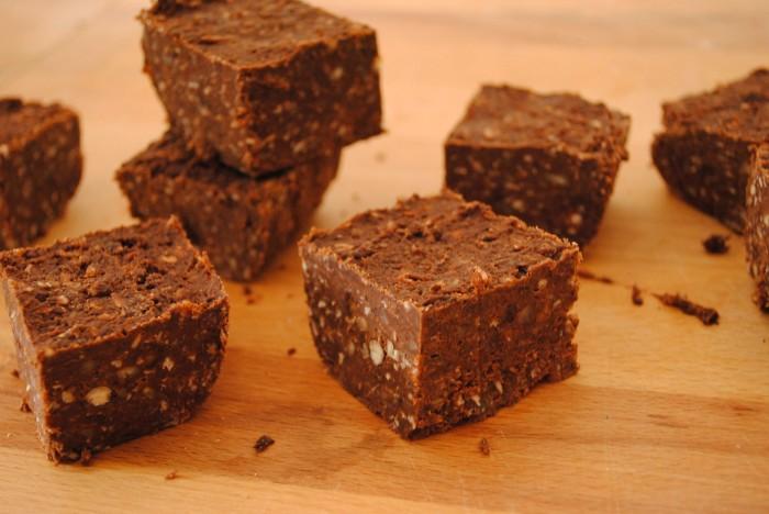 brownie cru vegan