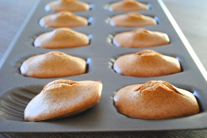 madeleines brunes